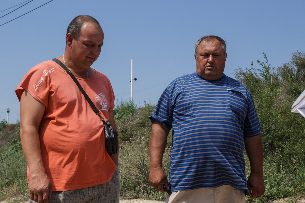 Григорий Хабибулин (слева) и Николай Грязнов