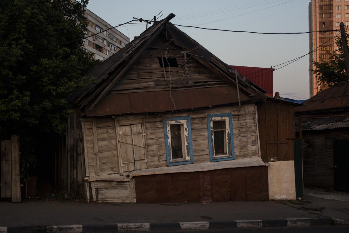 Аварийный дом на Большой Горной
