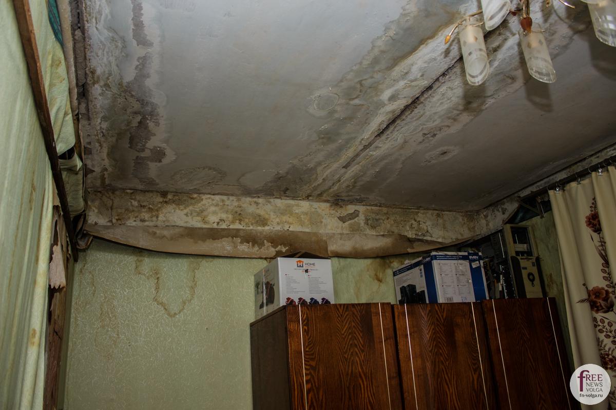Потолок в квартире Татьяны Шустовой