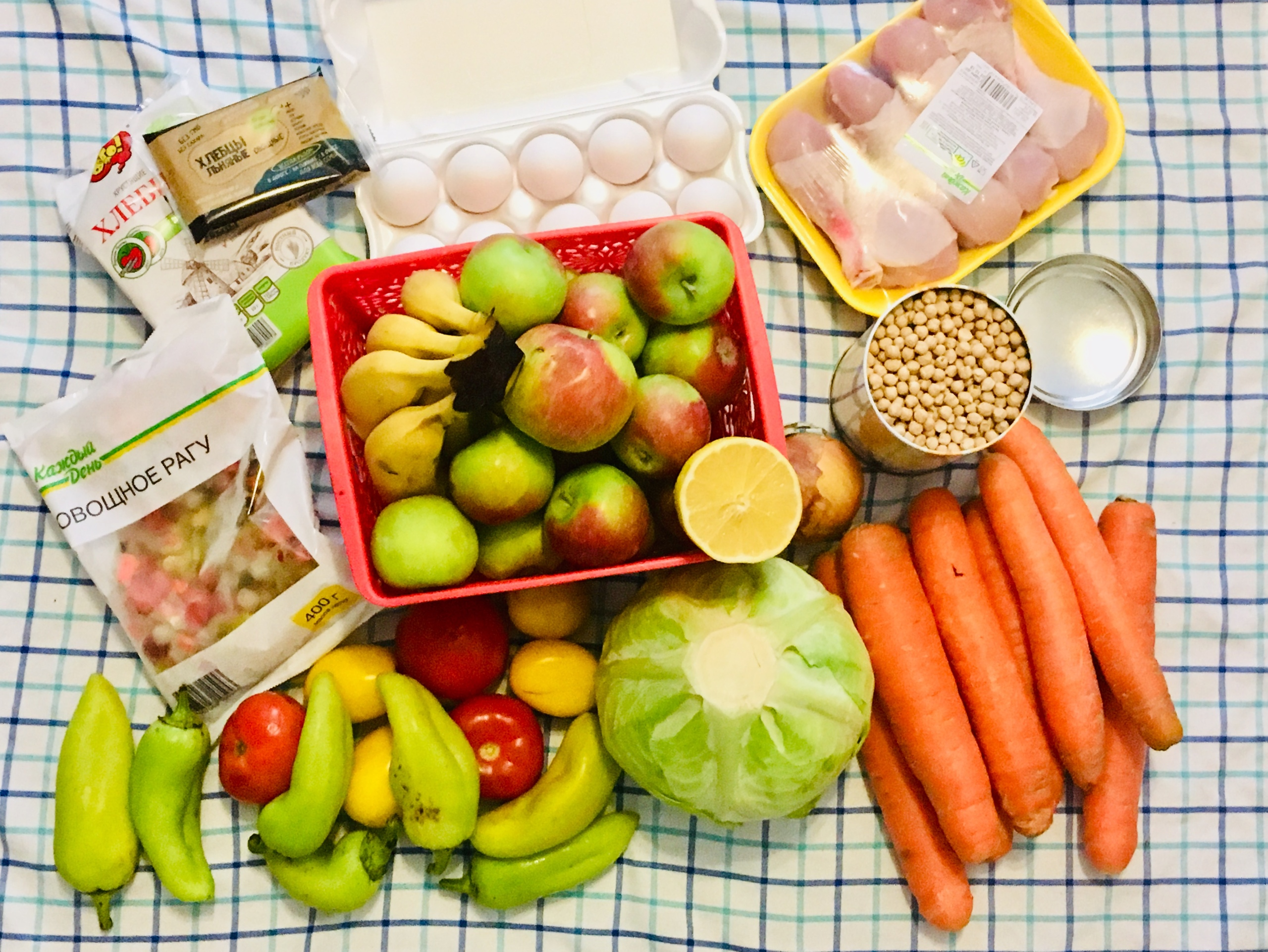 Простая диета овощная