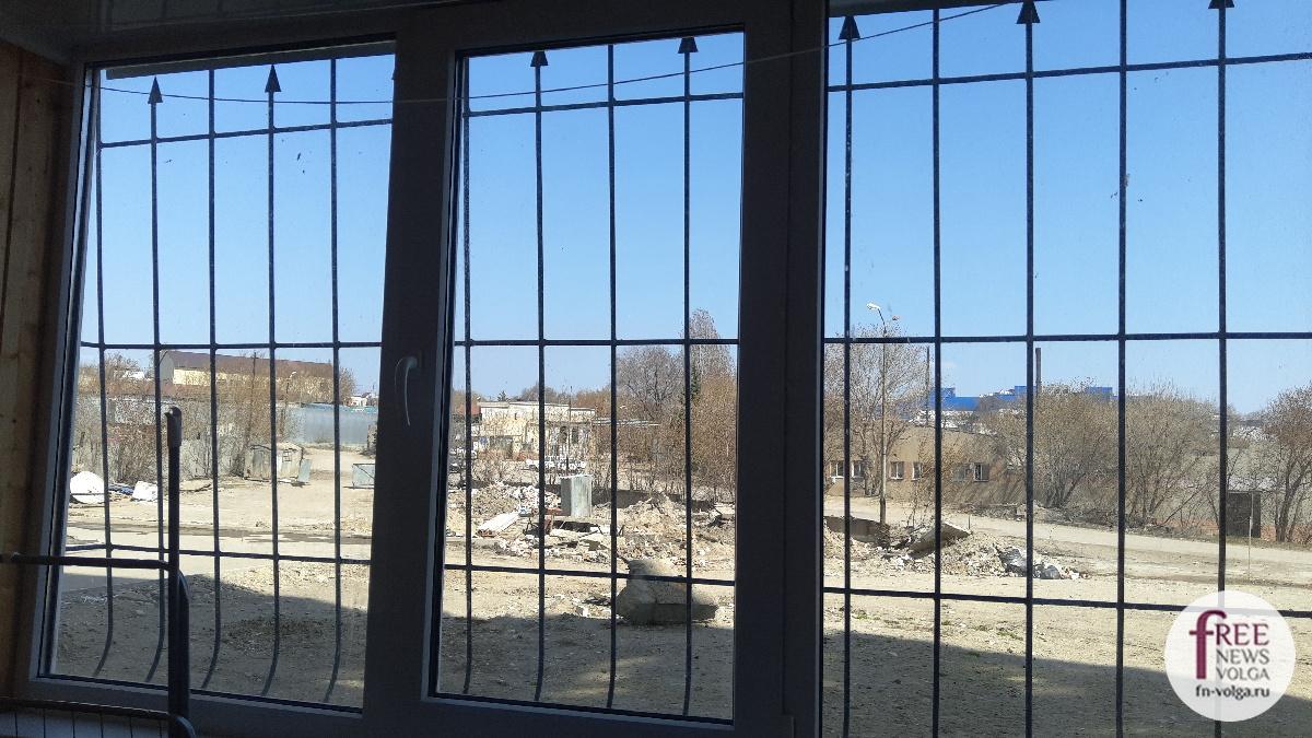 Вид из окна квартиры Прутовых