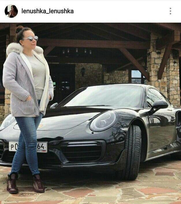 Елена Грищенко и Porsche