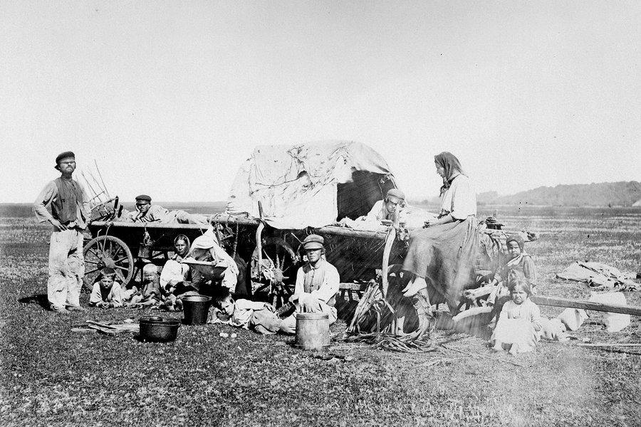 Немецкие колонисты в Саратовской губернии, XIX век. Из собрания областного музея краеведения