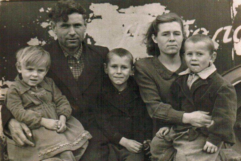 Семья Арндт в Казахстане. Фото из личного архива