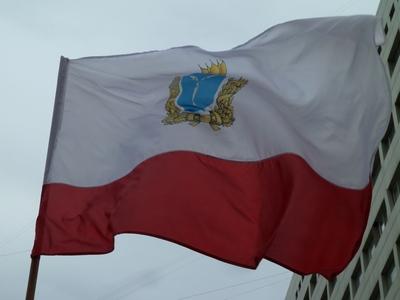 Побывавший на арктической станции флаг Саратовской области привезут домой
