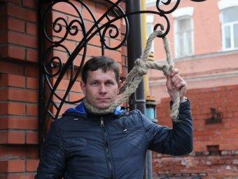 За участие в «тракторном марше» саратовцу Александру Черевко грозит до 15 суток ареста