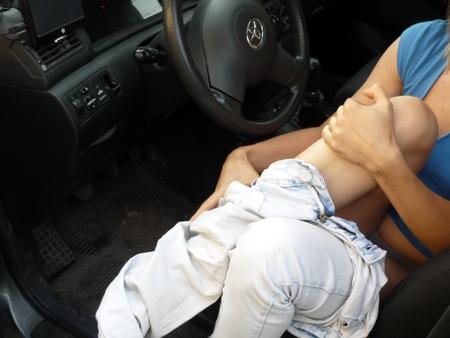 Секс с девочкой в машине