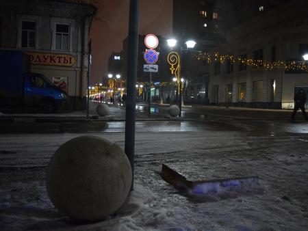 Новый рекорд: спешеходной зоны бетонный шар укатили досамой набережной