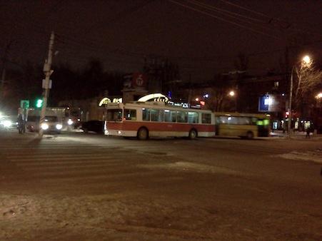 ВСаратове вчас пик остановилось движение трамваев