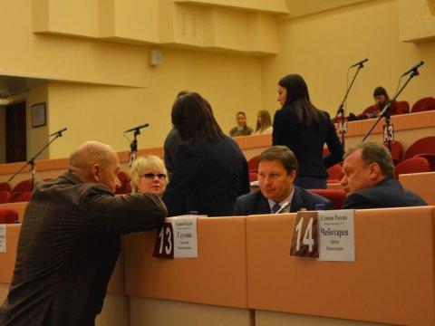 Народные избранники гордумы преждевременно закончили полномочия председателя Сергея Наумова