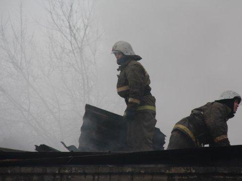 ВМарксе напожаре погибла 82-летняя пенсионерка