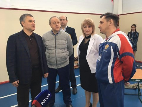 Вячеслав Володин посетил Краснокутскую центральную районную поликлинику