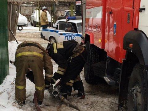 Напожаре умер  нетрезвый  курильщик