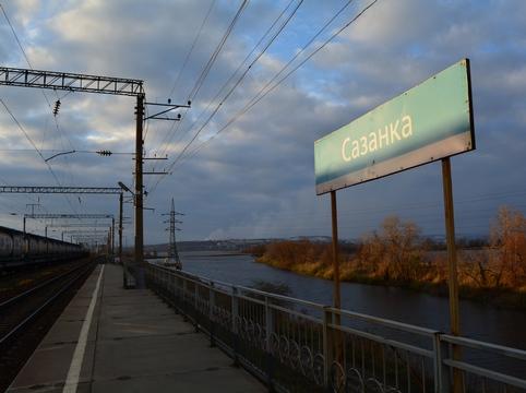 Наперегоне Анисовка-Сазанка грузовой поезд задавил пенсионерку