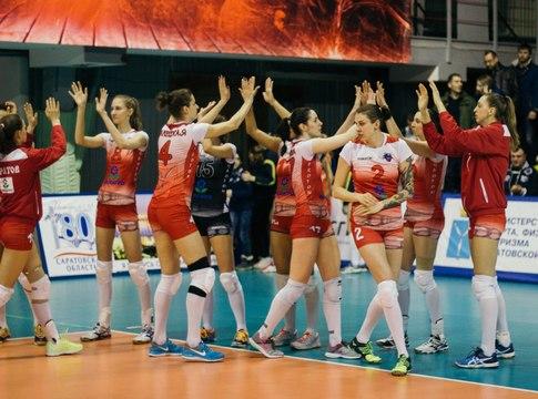 Волейболистки «Динамо» обеспечили себе пятое место чемпионата Российской Федерации