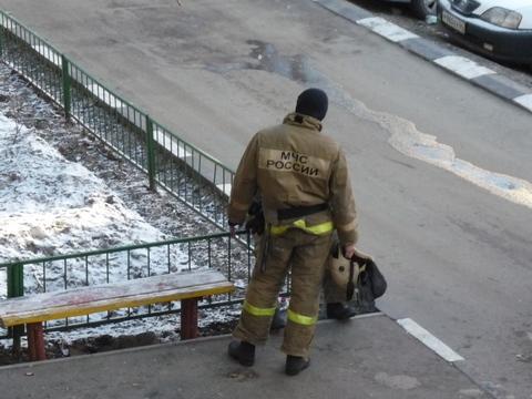 Напожаре под Саратовом вдоме умер мужчина