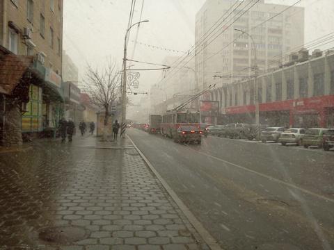 22апреля вКазани предполагается мокрый снег идождь