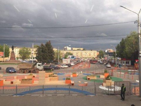 НаПривокзальной площади Саратова установят дополнительные светофоры