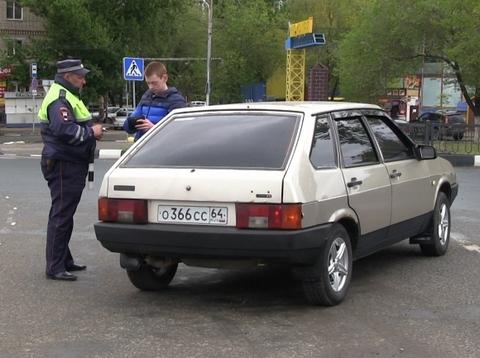 Ввыходные 1 267 водителей оштрафовали затонировку