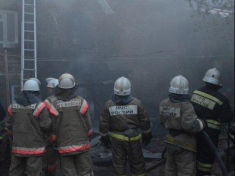 Названа причина смерти мужчины напожаре вПугачеве