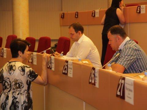 Народные избранники гордумы почтили минутой молчания память Олега Грищенко