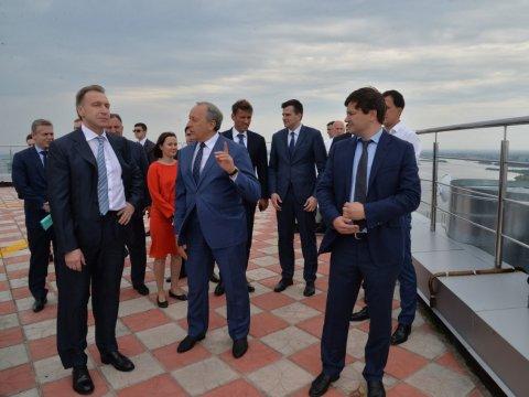 ВСаратов прибыл 1-ый зампред руководства РФИгорь Шувалов