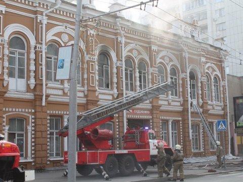 Пожар в«Доме художника». руководство запросило вМЧС информацию опричинахЧП