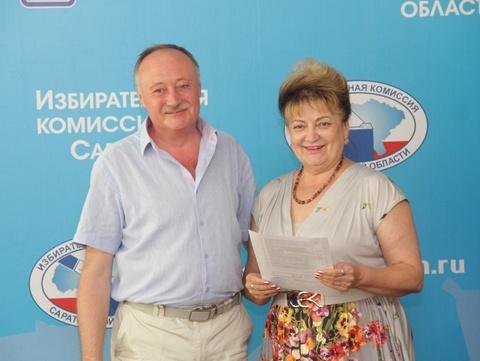 Выборы губернатора. Ольга Алимова предоставила подписи для прохождения муниципального фильтра