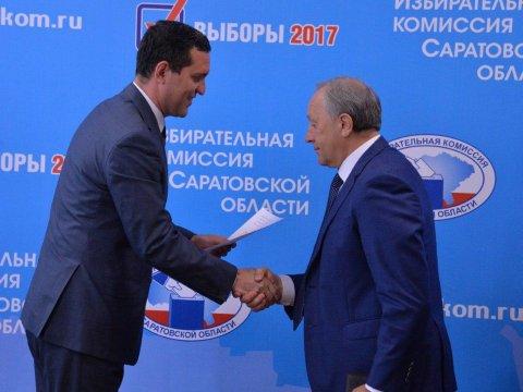 Избирком зарегистрировал Радаева вкачестве кандидата вгубернаторы