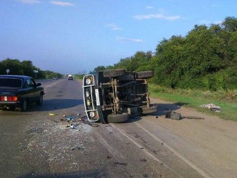 Натрассе умер 17-летний пассажир перевернувшегося «уазика»