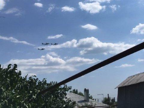 Впарке «Патриот» стартовал воздушный парад вчесть Дня ВКС