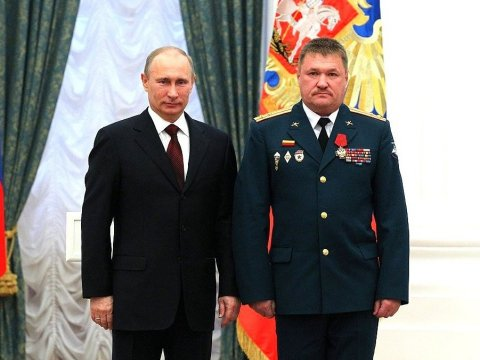 Русский генерал умер вСирии