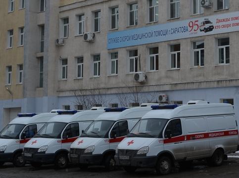 ВДТП сучастием «скорой» вСаратове травмированы 3 человека