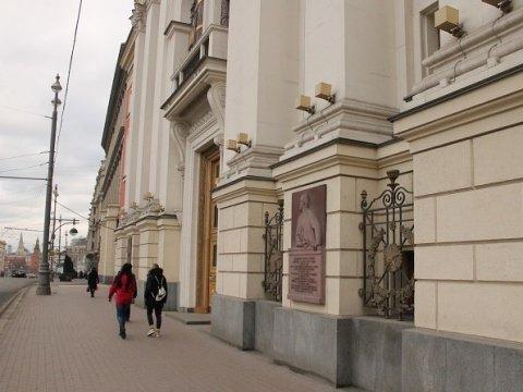 Строение  руководства  столицы  «заминировали»: эвакуировать чиновников нестали