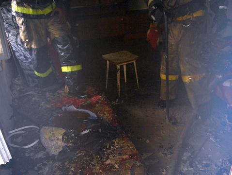 СУСКР: мать исын погибли напожаре из-за небрежного курения