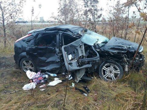ВСаратовском районе встолкнулись Форд иТагаз. Погибли два человека