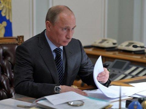 Путин сократил заработную плату  президента в последующем 2018г