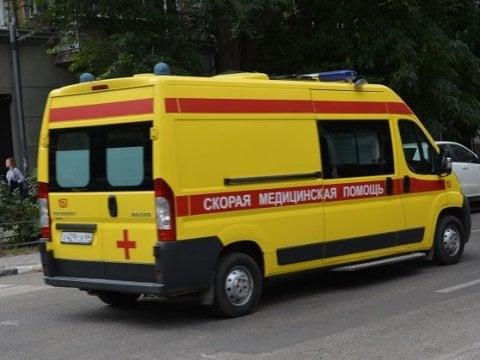 ВСаратовской области автомобиль врезался вскорую помощь с 2-мя пациентами