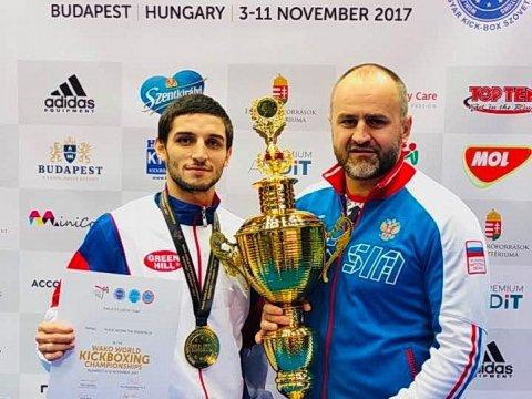 Ижевский спортсмен стал чемпионом мира покикбоксингу