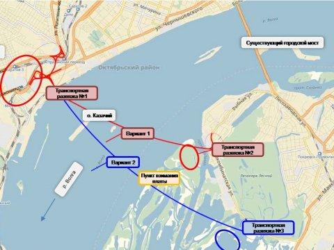 Представлена теория  платного моста Саратов— Энгельс