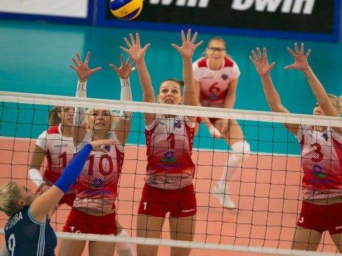 Волейболистки «Протона» победили «Динамо-Метар» вматче чемпионата РФ