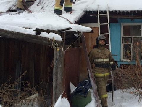 ВПитерском районе из-за неисправности электрооборудования сгорел дом
