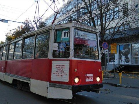 ВСаратове из-за подозрительного рюкзака остановили движение трамваев