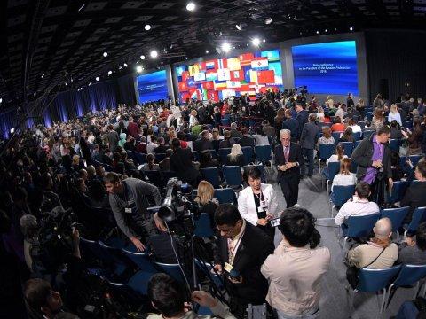 Напресс-конференцию Владимира Путина аккредитовано 1640 работников СМИ