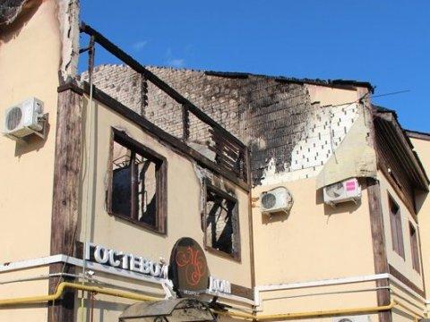 Ночной пожар в«Ассамблее» тушили неменее 5-ти часов
