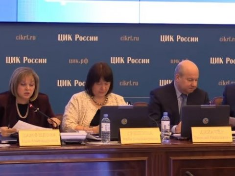 ЦИК Российской Федерации отказался допустить Навального напрезидентские выборы
