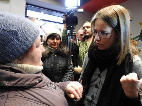 Собчак назвала РФ государством «бедных иобездоленных»