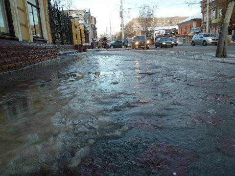 Жителям Саратовской области обещают похолодание инемного снега