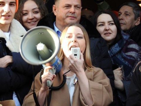 Собчак сообщила обатаках наеештабы состороны «Гражданского патруля»