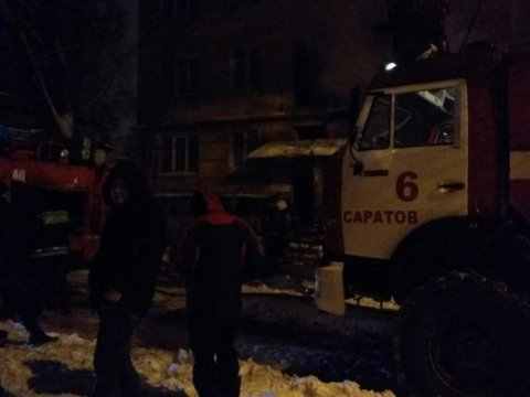 После пожара вЗаводском районе госпитализировали 3-х человек